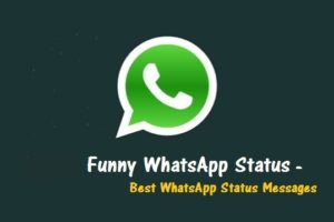 Funny WhatsApap Status