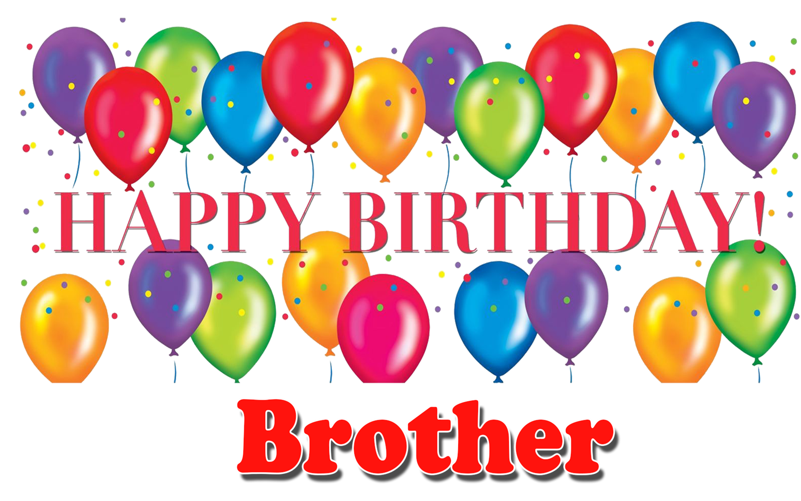 Happy Birthday Wishes For Brother
