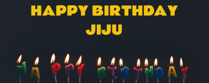 Happy Birthday Jiju