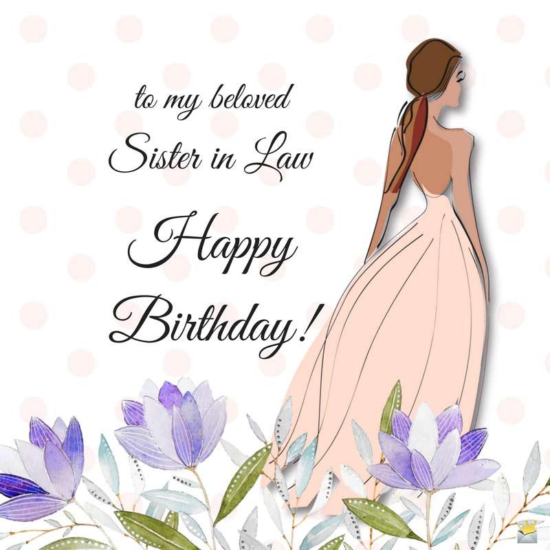 Sweet Bhabhi Birthday Wishes